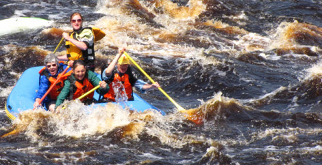 Facing Whitewater – an afternoon on the river