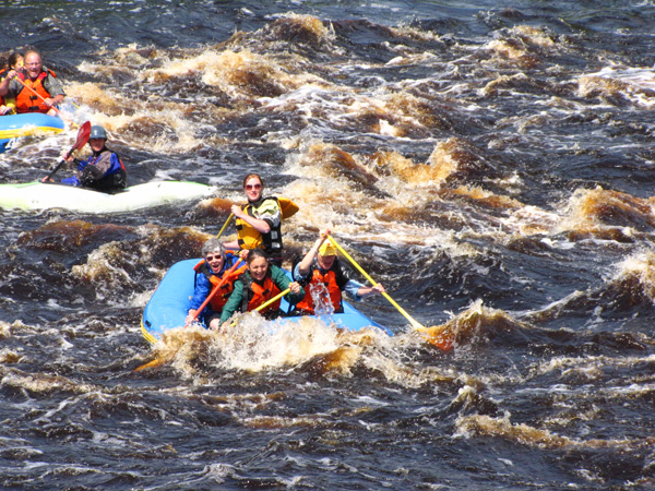White water rafting at 60 has its lessons